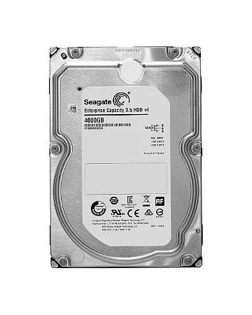 ST4000NM0034 - HD Servidor Seagate 4TB 7.2K 3.5 12G 512e SAS