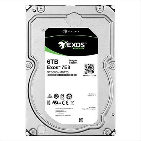 ST6000NM0175 - HD Servidor Seagate ENT 6TB 7.2K 3.5 6G 512e SATA