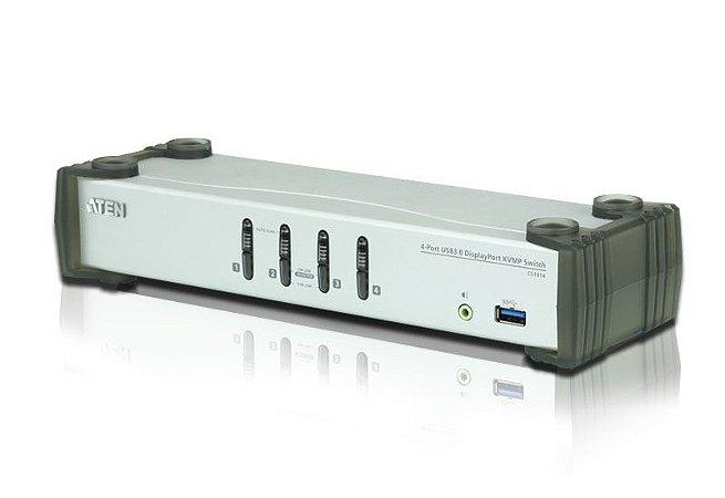 CS1914 Switch USB 3.0 DisplayPort KVMP™ de 4 Portas (Cabos incluídos)