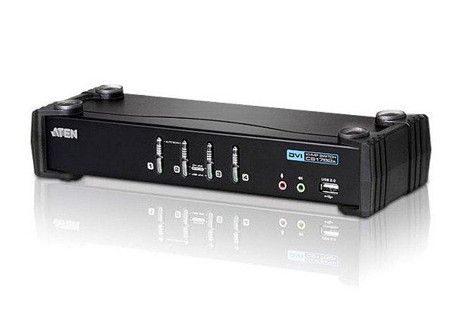 CS1764A Switch USB DVI/Audio KVMP™ de 4 portas