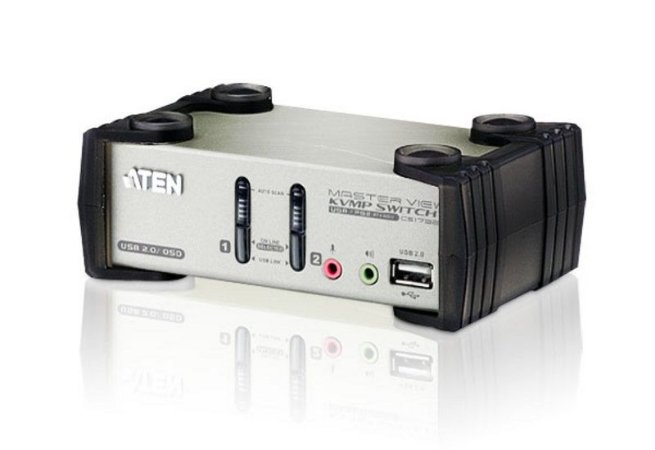 CS1732B Switch PS/2-USB VGA/Audio KVMP™ de 2 portas com OSD