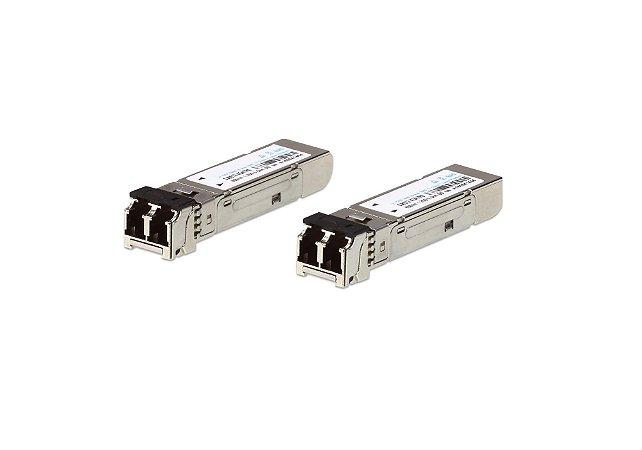 2A-137G Módulo transceptor SFP de modo único de 1,25G de fibra (10KM) (2 peças por pacote)