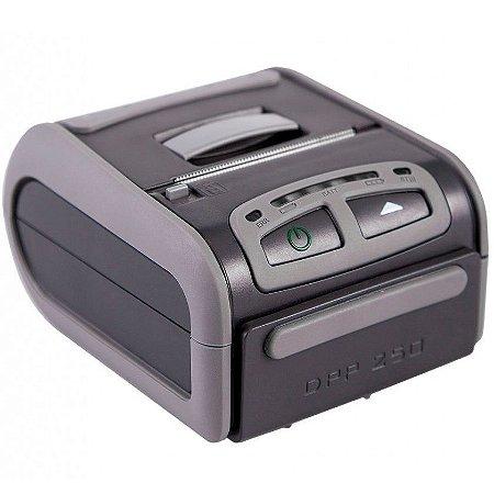"""DPP-250 Impressora portátil de 2"""" de impressão com comunicação Bluetooth."""