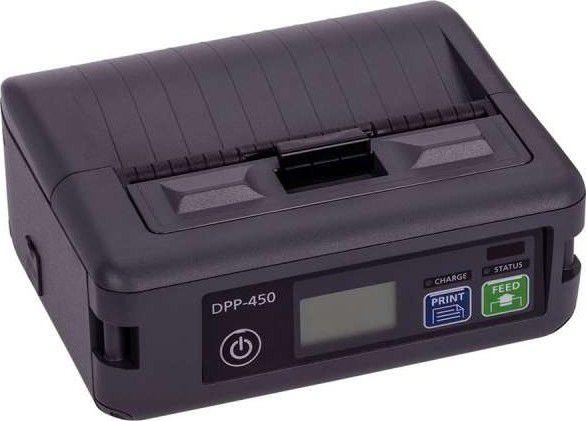 """DPP-450 Impressora portátil de 4"""" de impressão com comunicação Bluetooth ou WiFi."""