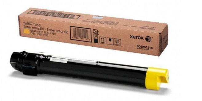 006R01518NO Toner Xerox Amarelo - 15K