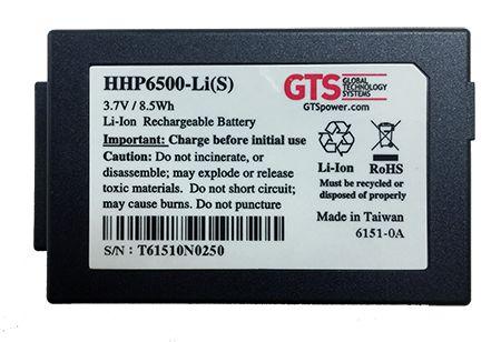 HHP6500-LI(S) - Bateria GTS Padrão Para Computador de Mão Honeywell HHP6500