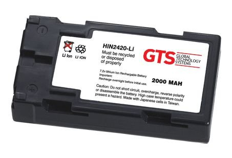 HIN2420-LI - Bateria GTS Para Intermec Antares 2420/2425/2430/2435/5020/5025