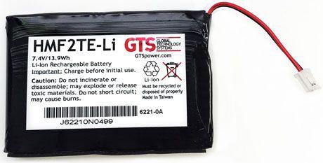 HMF2TE-LI - Bateria GTS Para Impressora Datamax-O'Neil MF2TE
