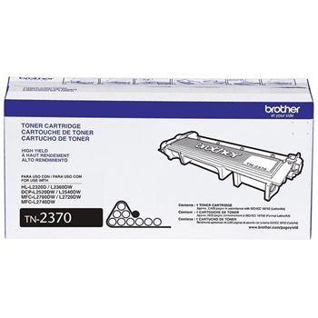 TN2370BR Cartucho de Toner Preto Brother DCP-L2520DW/ MFC-L2720DW