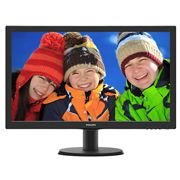 243V5QHAB Philips Monitor (243V5QHAB) LED 23.6 Widescreen (1920x1080) com audio (2x2W), VESA (100x100mm) (VGA/DVI/HDMI)