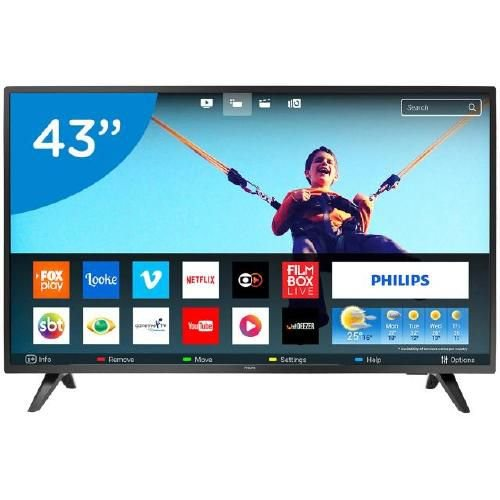 43PFG5813 TV 43P PHILIPS LED SMART WIFI FULL HD USB
