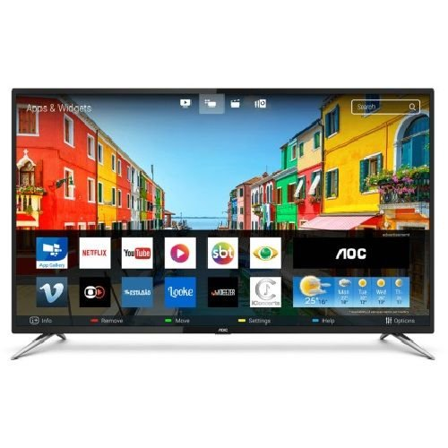 LE50U7970S TV 50P AOC LED SMART 4K WIFI USB HDMI