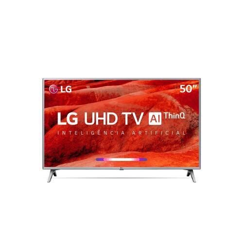 50UM7500PSB.BWZ TV 50P LG LED SMART 4K USB HDMI COMANDO DE VOZ
