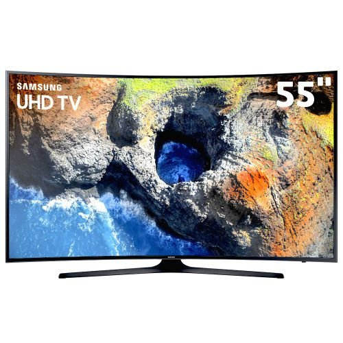 UN55MU6300GXZD TV 55P SAMSUNG LED CURVA 4K SMART WIFI USB HDMI