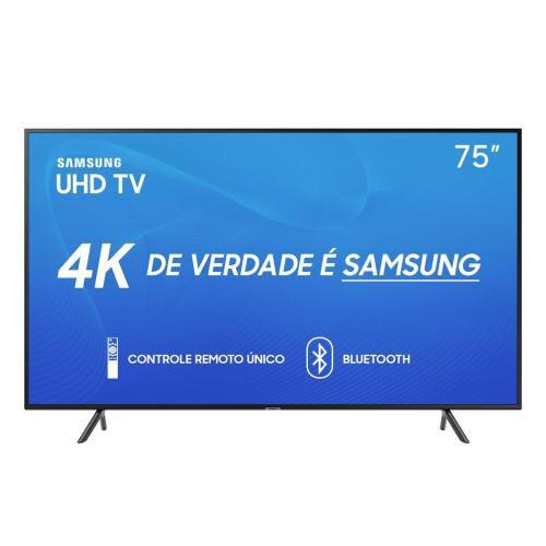 UN75RU7100GXZD TV 75P SAMSUNG LED SMART 4K WIFI USB HDMI