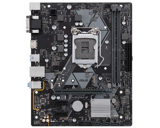 90MB0Y30-C1BAY0 Placa-Mãe Asus (PRIME H310M-E/BR) Intel 1151 DDR4 mATX