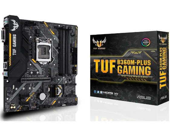 90MB0Y40-C1BAY0 Placa-Mãe Asus GAMING (TUF B360M-PLUS) Intel 1151 DDR4 mATX
