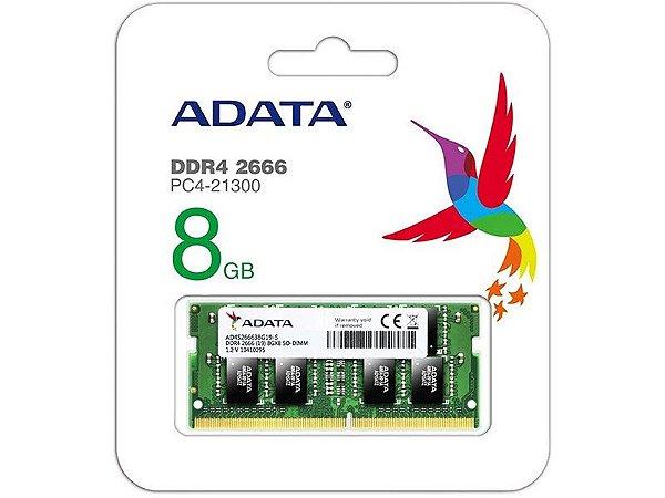 AD4S266638G19-S MEMORIA NOTEBOOK DDR4 ADATA
