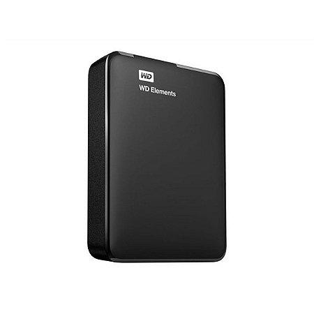 WDBU6Y0020BBK-WESN - HD Externo Western Digital Elements 2TB 2.5in USB 3.0 Black