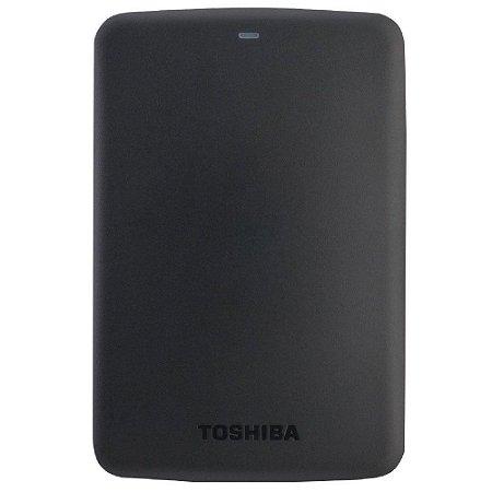 HDTB305XK3AA - HD Externo Toshiba 500GB USB 3.0 5400rpm Preto