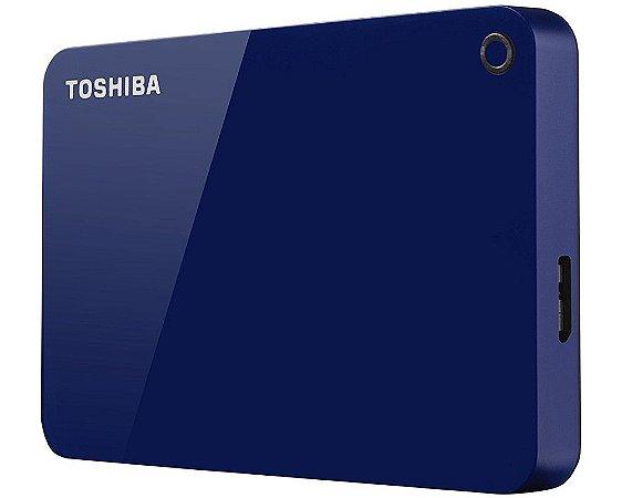 HDTC910XL3AA - HD Externo Toshiba 1TB Canvio Advance V9 5400rpm USB 3 Blue
