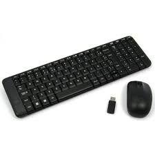 920-004431 KIT Teclado e Mouse S/fio Mk220 Preto Logitech