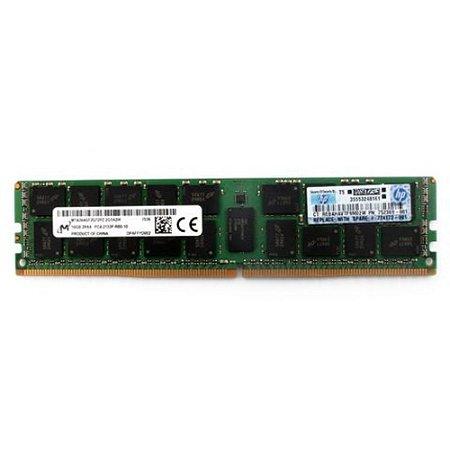 632203-001 Memória Servidor HP 32GB (1x32 GB) Quad Rank x4 RDIMM