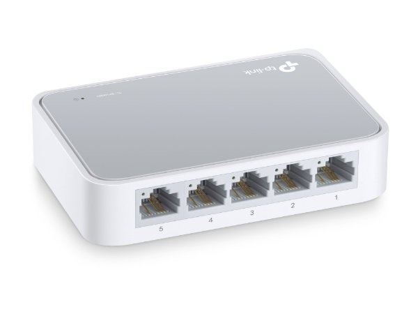 Switch Fast Ethernet 5 portas 10/100 - TP-LINK / TL-SF1005D