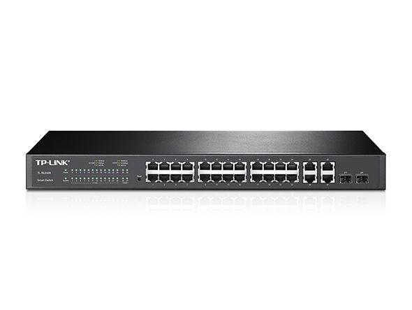 Switch 4 Portas Gigabite +24 Portas 10/100 - TP-Link / TL-SL2428