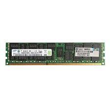 684031-001 Memória Servidor HP DIMM SDRAM de 16GB (1x16 GB) SDRAM