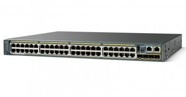 Switch Cisco Catalyst 2960-X 48 GigE PoE 370W, 4 x 1G SFP, LAN Base / WS-C2960X-48LPS-LB