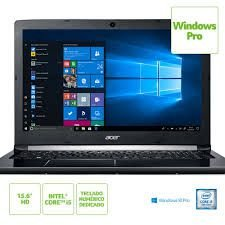 "NX.GQBAL.008 Notebook Acer A515-51-58dg Intel Core I5 7200u 4gb 1tb 15,6"" Windows 10 PRO Preto"