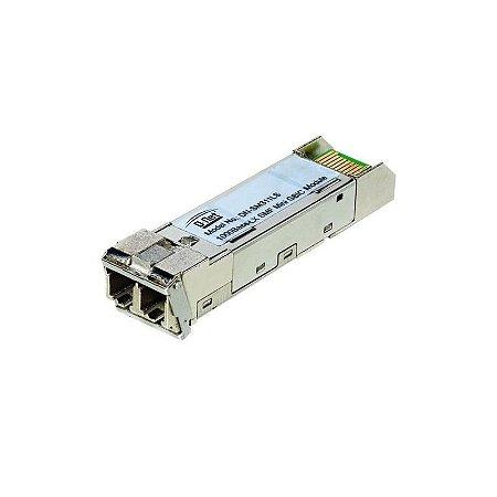Módulo Mini GBIC 1000 Base LX 80KM C/DDM D-net - DN-SFP-LX-80