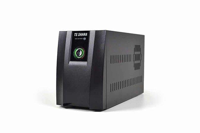 Nobreak TS SHARA UPS Compact Pro Universal 1400VA 1Bat 12V/7Ah Ent. Bivolt / S.115/220V CHAVE C/ENG 6T