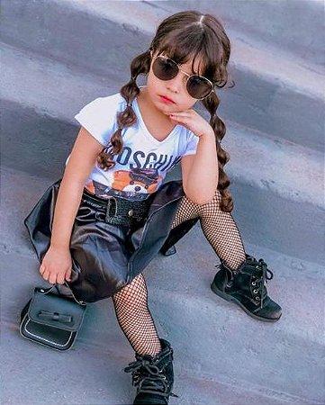 Meia Calça Arrastão Infantil