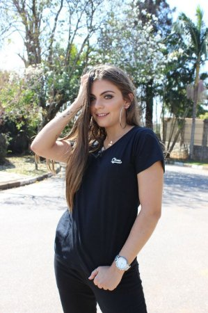 CAMISETA BABY LOOK BLACK CHNC®