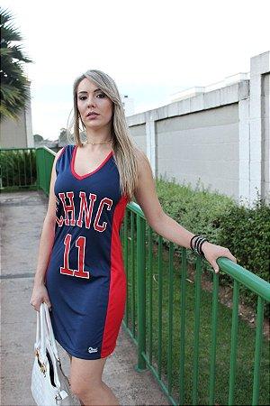 VESTIDO BASKETBALL CHNC AZUL