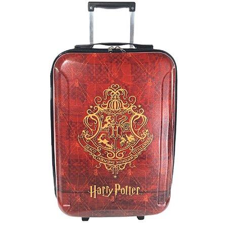 Mala 10kg Pequena em Eva de 03 Rodinhas Harry Potter Marrom