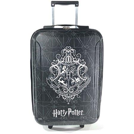 Mala 10kg Pequena em Eva de 03 Rodinhas Harry Potter Preto