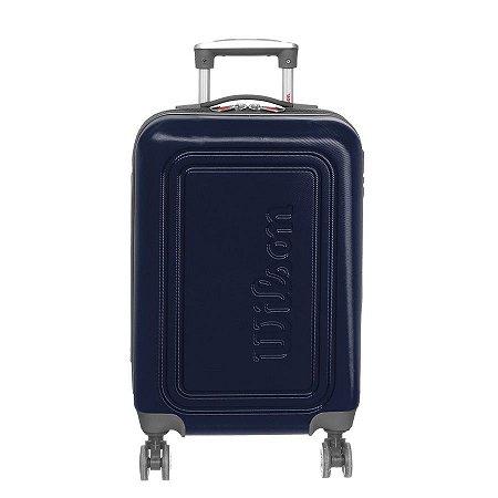 Mala de Viagem Pequena de Bordo Wilson em ABS com Rodas 360º Graus - Azul