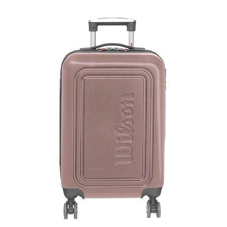 Mala de Viagem Pequena de Bordo Wilson em ABS Rose