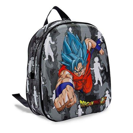 Lancheira de Costas Dragon Ball Super Goku Maxtoy