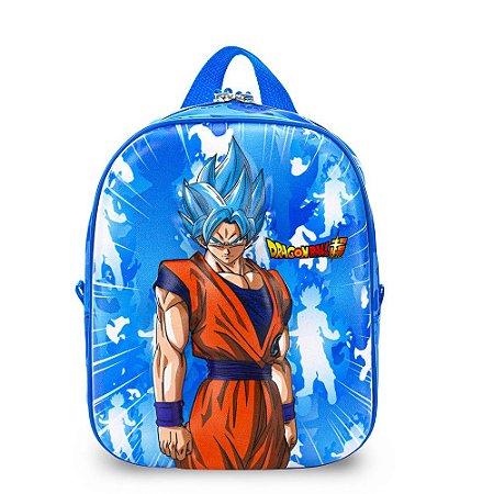 Lancheira de Costas Dragon Ball Super Saiyan Maxtoy
