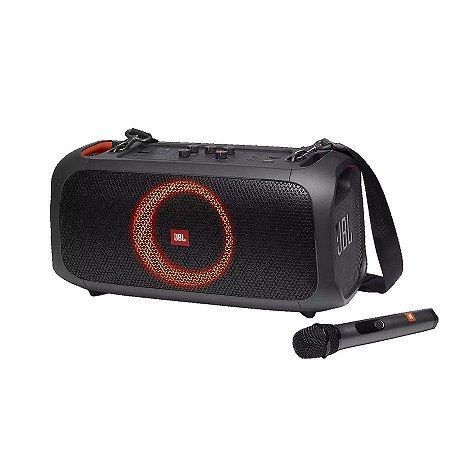 Caixa de Som Portátil JBL PartyBox On-The-Go com Microfone
