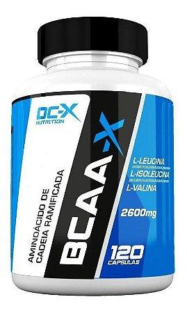 Bcaa-x 2600mg (120 Caps) - Dc-x Nutrition
