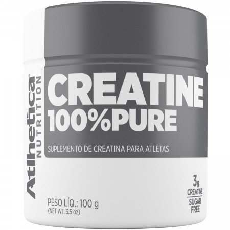 CREATINA 100% PURE - 100G - (PRO SERIES) ATLHETICA