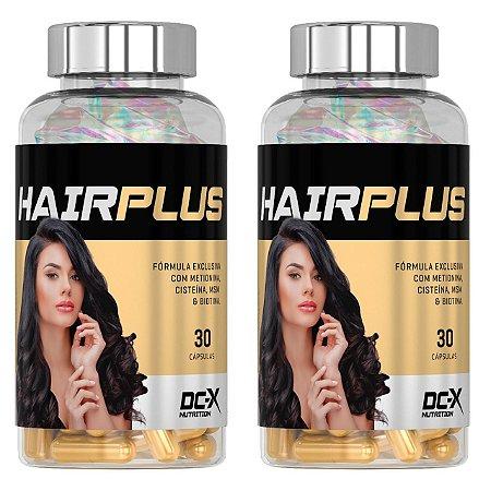 2x HAIR PLUS - Tratamento 60 Dias
