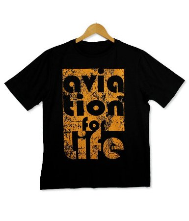 Camiseta Aviation for Life