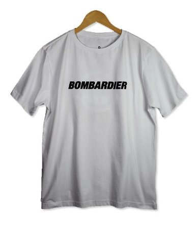 Camiseta Bombardier
