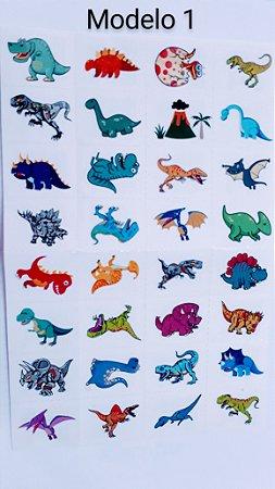 Tatuagem temporária Dinossauros